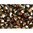 Toupie 3mm Cristal Dorado - Lot de 50