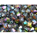 Toupie 4mm Cristal vitrail medium - Lot de 50