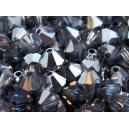 Toupie 4mm Cristal Meridian Blue - Lot de 50